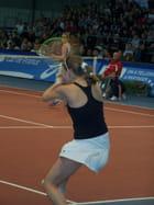"""Tennis - Joueuse - Tournoi """"les petits as""""."""