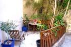 Terrasse privée de village