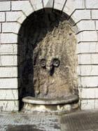 Tête de belier pour fontaine