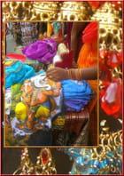 Tissus & bijoux fantaisie indiens