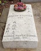 Tombe Judith Gautier