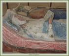 Tombeau d'Aliénor d'Aquitaine (1122-1204) ou Eléonore de Guyenne, duchesse d'Aquitaine,