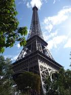Tour Eiffel feuillue
