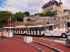 Train touristique à Biarritz.