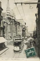 Tramway à Caen, rue Saint-Pierre