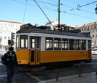 Tramway jaune