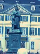 Très belle statue de Beethoven