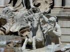 triton de la fontaine de Trevi