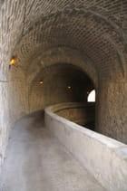 Tunnel d'accès à la plage de cabbé