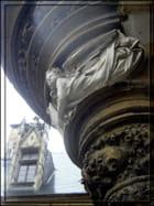 Un ange à l'abbaye de Cluny