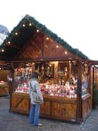 Un chalet du marché de Noël