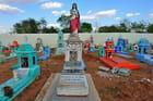 Un cimetière Maya