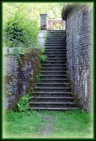 Un escalier à Trévarez