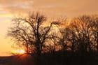Un généreux coucher de soleil ...