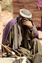 Un homme à Petra