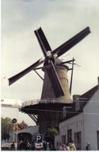 un moulin dans les rues d'Amserdam