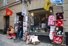 une boutique dans la vieille ville