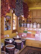 Une boutique de loukoums