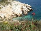 Une crique sur l'île du Frioul