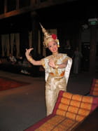 Une danseuse thaïlandaise