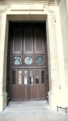 Une entrée à St Sulpice