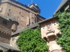 Une façade du château du Haut Koenigsbourg