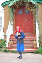 une femme d'un village de campagne Russe