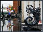 Une fontaine à Beaubourg