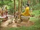Une partie du temple Wat Tha Torn