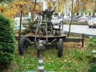 Une pièce d'artillerie
