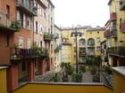 Une placette dans le vieux Nice