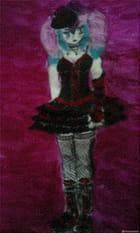 une princesse gothic