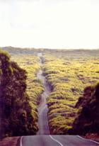 Une route sineuse