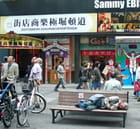 Une rue commerçante d\'Osaka