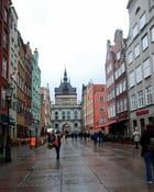 une rue de Gdansk