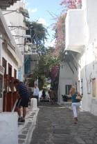 une rue de Mykonos