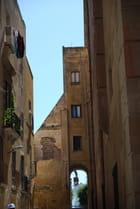 une ruelle de la vieille ville de Trapani
