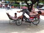 une sieste au Combodge