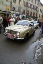 Une voiture au moyen âge