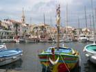 Les couleurs  du port