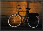 Vélo en habit....