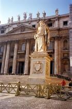 Vers basilique Saint Pierre de Rome