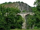 Viaduc de la Lande construit en 1866