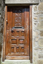 Vieille porte bretonne