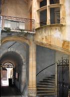 Vieux Lyon : une cour