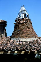Vieux toit en Castille