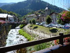 Village dans les Alpes