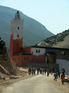 village de l'atlas marocain