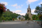 Village de Murol en Auvergne