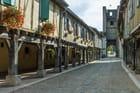 Village médiéval de Tillac dans le Gers